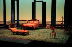 Cat on a Hot Tin Roof. Guthrie Theatre. Scenic design by Rachel Hauck.