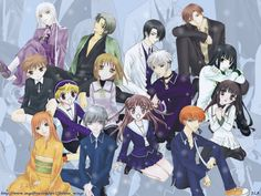 Fruits basket is a great series for who love Shojo. There are quite a bit of characters in this anime but I'm going to talk. Shugo Chara, Vocaloid, Fairy Tail, Manga Anime, Anime Chat, Saiunkoku Monogatari, Best Animes Ever, Grand Prix, Zodiac Characters