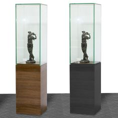 60 Inch Glass Tower Display with Pedestal Base #dcgstores #diningfurniture - Sale $449.00