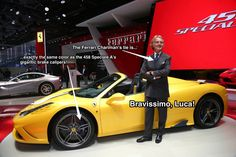 Ferrari's Chairman Shows How To Match Your Tie With Your Car | Business Insider