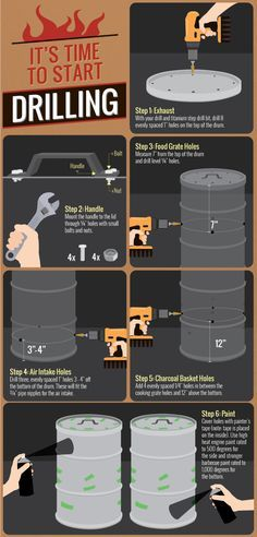Building Your Own Smoker - It's Time to Start Drilling