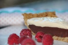 So rich you could die chocolate pie by Lyn-Genet Recitas. Amazing, amazing, amazing.   Get the recipe http://realfoodrealfast.com.au/real-food-recipe-books/