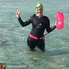 from Moni Moonreker  @moni.moonreker . . . . 2nd day Ibiza 2 km open water  #monimoonreker #missionibiza703 #ibizatriathlon #openeaterswimming #openwater #swimming #swimmer #swimbuoy #newwaveswimbuoy #sailfish #sailfishone #kiwamideutschland #feeltheperformance #bewegungsschmiede #tschakka #lassalinas #ibizadeporte #ibizasport #mittelmeer #ibiza #eivissa #islablanca