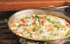 Sablefish Frittata with Asparagus, Red Peppers and Goat's Cheese