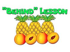 """Behind"" - Teach Prepositions for ESL English Lessons Esl Lessons, English Lessons, Kids English, Learn English, Busy Beaver, Classroom Tools, Prepositions, 1st Grade Math, Kindergarten Teachers"