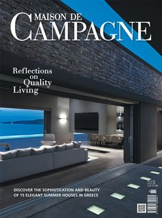 Maison de Campagne 2014 | find it via our e-shop @ ek-mag.com | #art #architecture #design #interior_design #style #stylish #modern #residence #building #Greece #Greek #islands #countryside #elegant #summer #sea #mountain #house #traditional #exclusive #edition #innovation