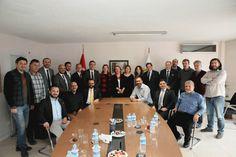 İYİ Parti STK Başkanlığı olarak İzmir Gazeteciler Cemiyetini ziyaretimiz