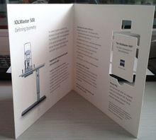promotional paper card webkey for business