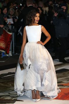 """Kerry Washington arrives on the red carpet for the UK premiere of """"Django Unchained"""" at Empire Leicester Square in London."""