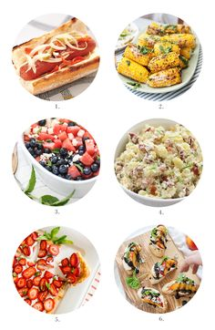 gourmet 4th july menu