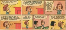 Peppermint patty - report card