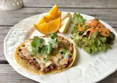 """Recipe: Chicken and Cheese """"Tostadas"""" - 100 Days of Real Food"""