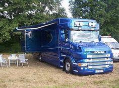 Scania T500 V8 CAMPING CAR.