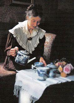 Rosewalk Cottage: Tea With Tasha Tudor-She illustrated Secret Garden and others