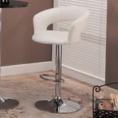 """Found it at AllModern - Colorado City 29"""" Barstool with Footrest in White"""