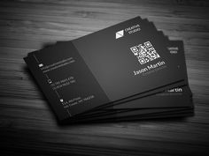 Check out Dark Creative Business Card by bouncy on Creative Market