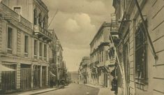 August street Heraklion, then and now Heraklion, Good Old Times, British Soldier, Old Maps, Crete, Main Street, Vintage Photos, The Past, Places