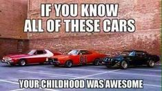 Starsky & Hutch, Dukes of Hazzard, Smokey & the Bandit! Childhood Days, 90s Nostalgia, Ol Days, Classic Tv, Classic Cars, Great Memories, The Good Old Days, Back In The Day, Funny Pictures