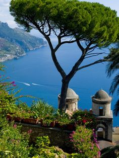 Rufolo View, Ravello, Amalfi Coast, UNESCO World Heritage Site, Campania, Italy,