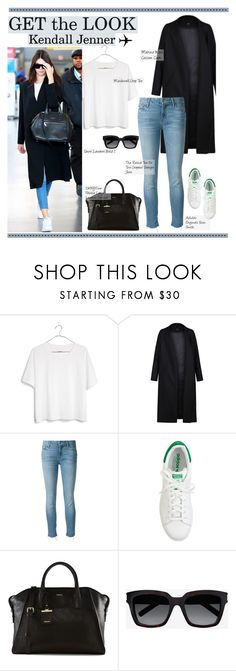 """""""290. Get the Look: Celebrity Airport Style"""" by lady-gaga-love ❤ liked on Polyvore featuring Madewell, Non, Mother, J.Crew, DKNY and Yves Saint Laurent"""