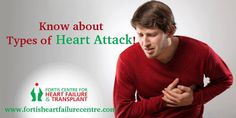 There are several types of Heart Attack, aware about it and save a precious life. For More : http://www.fortisheartfailurecentre.com/