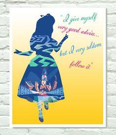 Alice in Wonderland Poster by PersonalPosters4U