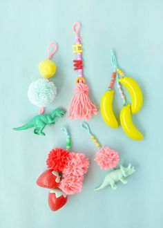 Make these playful luggage and backpack tags for summer camp, family vacation, or even back-to-school!