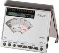 Seiko Sat1100 Chromatic Tuner Regular by Seiko. $44.99. Chromatic tuner