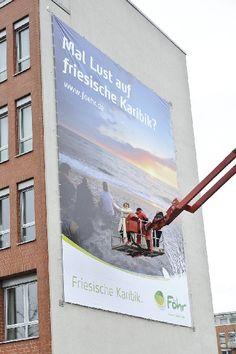 Friesische Karibik Föhr Mega Poster mit Sandra Lessau von Orange Cube Werbeagentur Hamburg