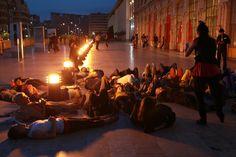 #Métamorphoses #GareSaintCharles #Marseille #MP2013 #Culture13 ©N.Ammirati