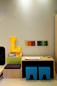 A decoração pode ser uma ótima aliada do aprendizado e desenvolvimento infantil…