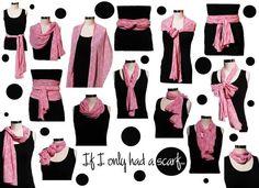 scarf tying ideas