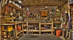 Shed -- A handyman haven can be just what a man needs to help him recharge.