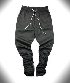 Gender: Men Waist Type: Mid Length: Full Length Closure Type: Drawstring Pant Style: Boot Cut Material: Cotton Thickness: Midweight