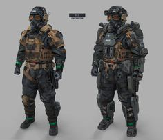 ArtStation - Soldier Concepts, Yong Yi Lee