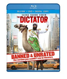 Amazon.com: The Dictator - BANNED & UNRATED Version (Two-disc Blu-ray/DVD Combo + Digital Copy): Sacha Baron Cohen, Megan Fox, Larry Charles: Movies & TV
