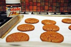 Sunday At the Giacomettis: Chocolate Nutella cookies!
