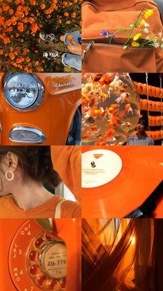 Orange Wallpaper, Soft Wallpaper, Wallpaper App, Retro Wallpaper, Locked Wallpaper, Iphone Wallpaper Tumblr Aesthetic, Aesthetic Pastel Wallpaper, Aesthetic Wallpapers, Collage Background