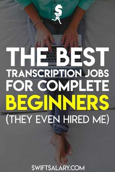 Transcription is in high demand and that isn't going to change any time soon. If you are a good typist with strong listening skills and atte. Work From Home Companies, Online Jobs From Home, Work From Home Opportunities, Online Work, Uk Online, Transcription Jobs From Home, Transcription Jobs For Beginners, Transcription Training, Earn Money From Home
