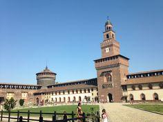 """Castello Sforzesco: """"The Prince of Renaissance""""! Leonardo da Vinci loved it ;)"""