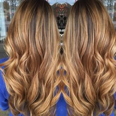 ROOTY HONEY BLONDE. From dark brunette to blonde in one session... Its possible people. im in love.