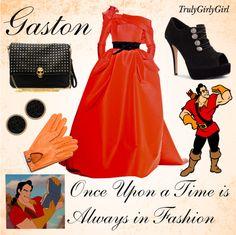 """Disney Style: Gaston"" by trulygirlygirl ❤ liked on Polyvore"