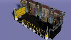 Breitling Red Bull Air Race party - visual plan, designed by www. Race Party, Box Design, Breitling, Red Bull, Racing, Running, Auto Racing