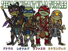 Teenage Mutant Ninja Turtles !! 映画めっちゃおもしろかった記念に(*^O^*)