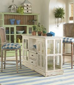 Create your perfect DIY Kitchen Island using furniture you may already have around the house. Re-purpose furniture into go great DIY Kitchen Islands.