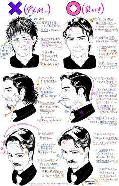 Draw Hair Как я люблю расшифровывать такие штуки!!! #humanfigures #drawings #design #heads #hair #illustrations