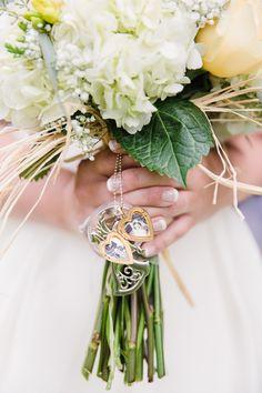 wedding bouquet locket ~ we ❤ this! moncheribridals.com #weddingbouquet