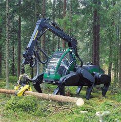 """Six-legged Logging Machine Prototype"" https://sumally.com/p/996500?object_id=ref%3AkwHNPvaBoXDOAA80lA%3A-h6z"