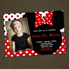 Minnie Mouse Inspired Birthday Party por PinkSkyPrintables en Etsy