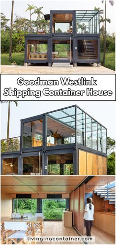 Shipping containers 692991461401700749 - Goodman Westlink Shipping Container House Source by sureysyassmm Shipping Container Cabin, Shipping Container Home Designs, Container House Design, Tiny House Design, Shipping Containers, Building A Container Home, Container Buildings, Container Architecture, Prefab Homes